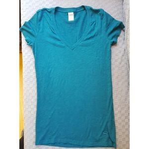 PINK Victoria's Secret Teal Sleepshirt Small